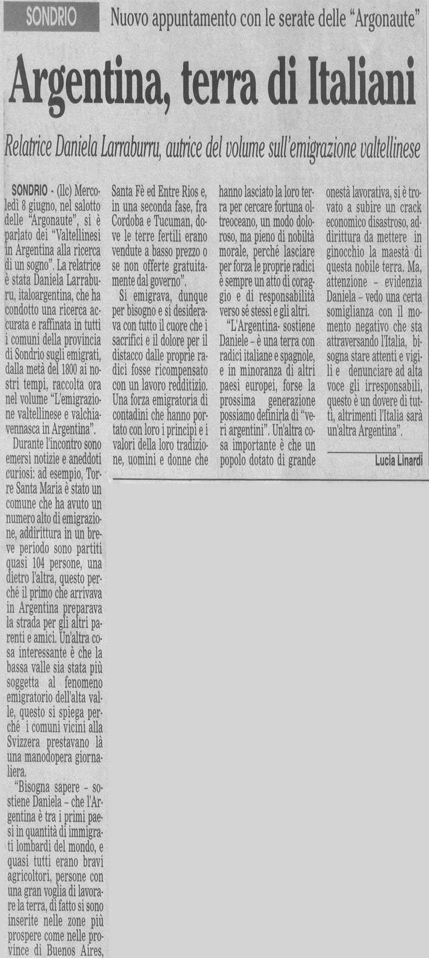 2005-06-08 Argentina, terra di Italiani