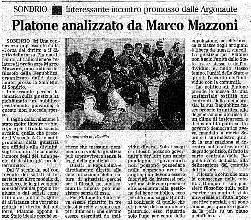 2007-02-08 Platone analizzato da Marco Mazzoni