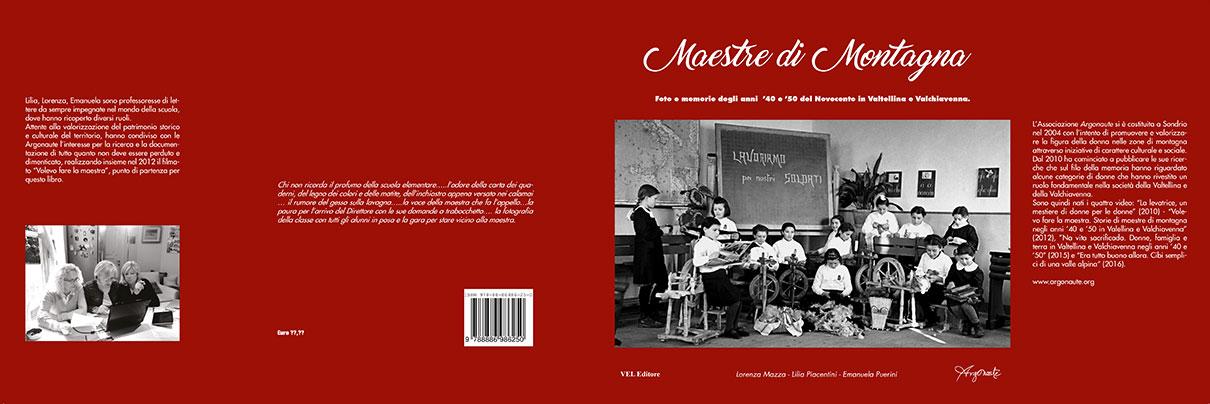 Maestre di Montagna la copertina del volume