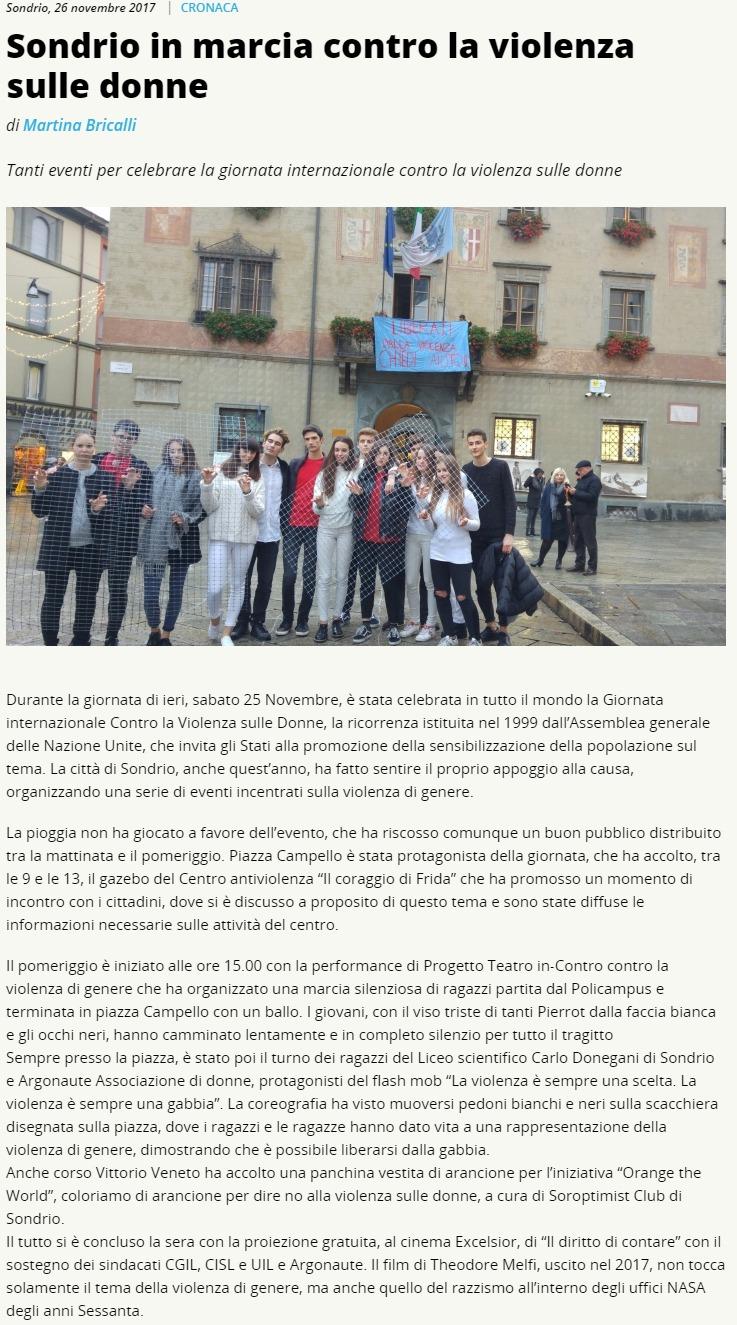2017-11-26 Sondrio in marcia contro la violenza sulle donne