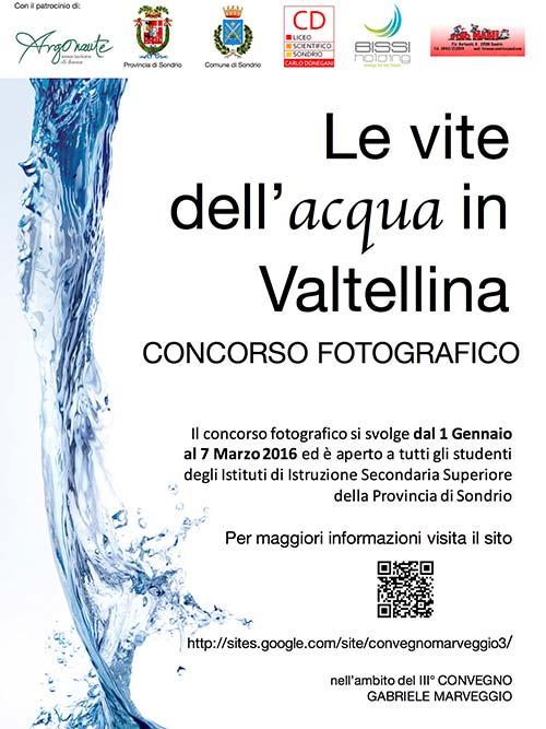 Le vite dell'acqua in Valtellina