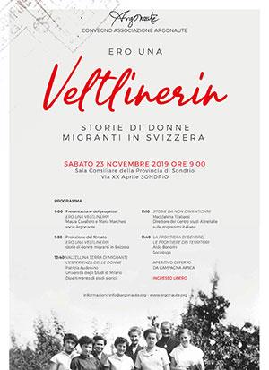Ero una Veltlinerin Storie di donne migranti in Svizzera Miniatura