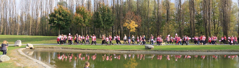 Argonaute alla Camminata in rosa Sondrio