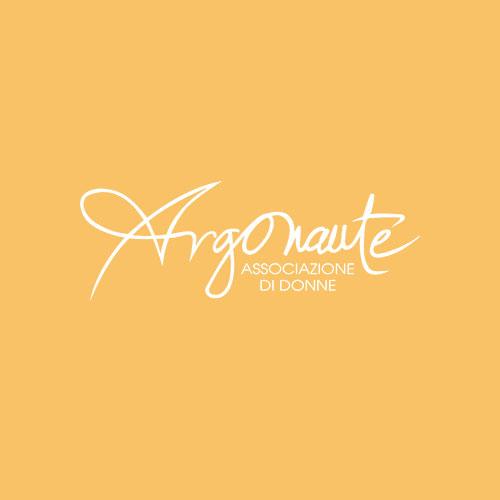 Logo Argonaute con sfondo Arancione